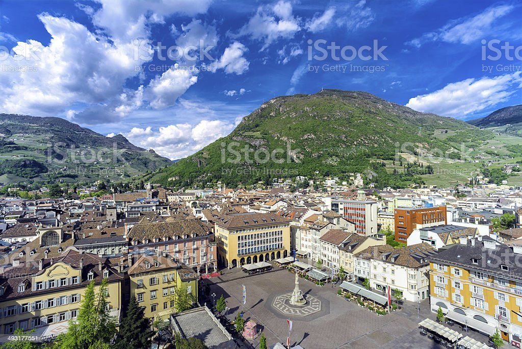 Bolzano stock photo