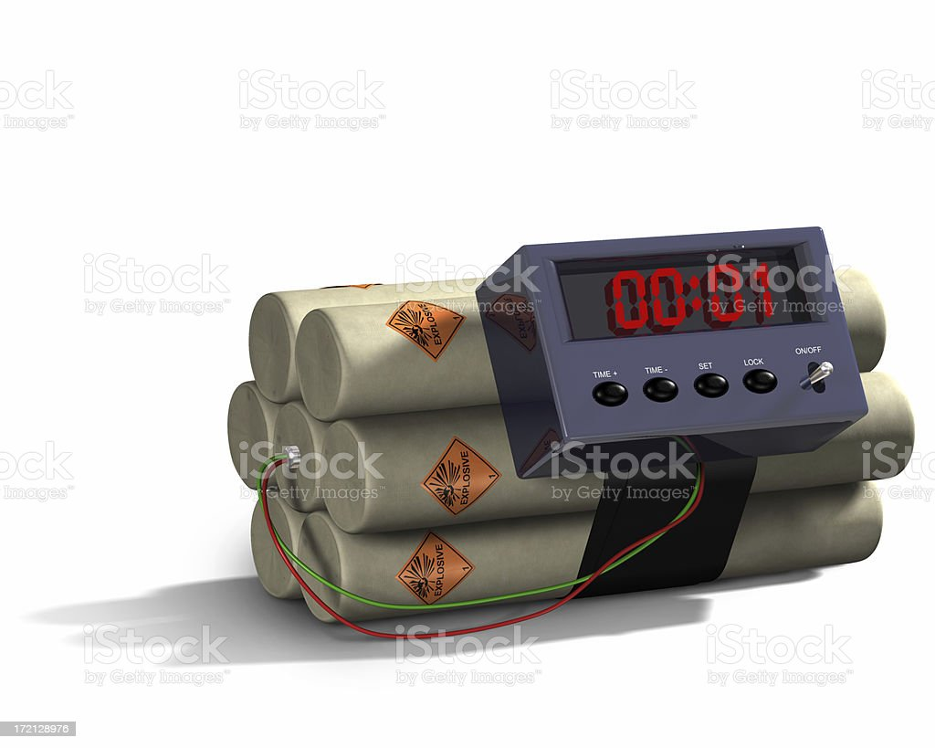 Bomb 02 royalty-free stock photo