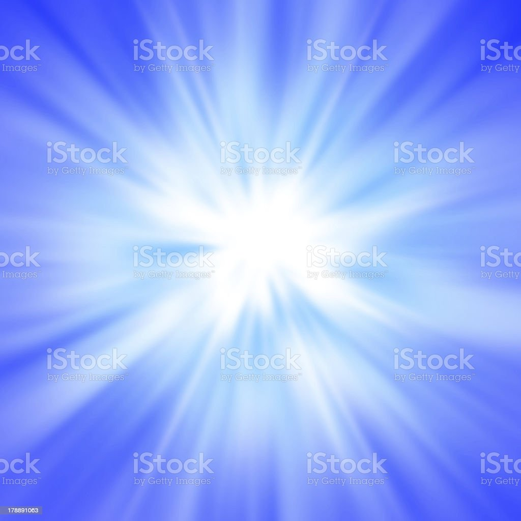 Bomb and ray of light royalty-free stock photo