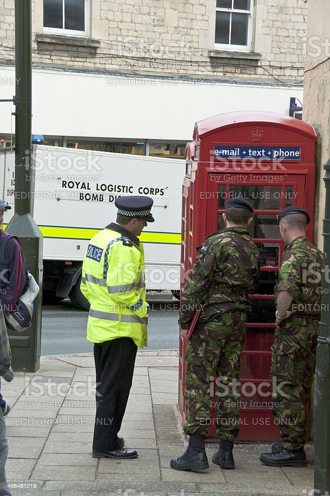 Bomb Disposal royalty-free stock photo