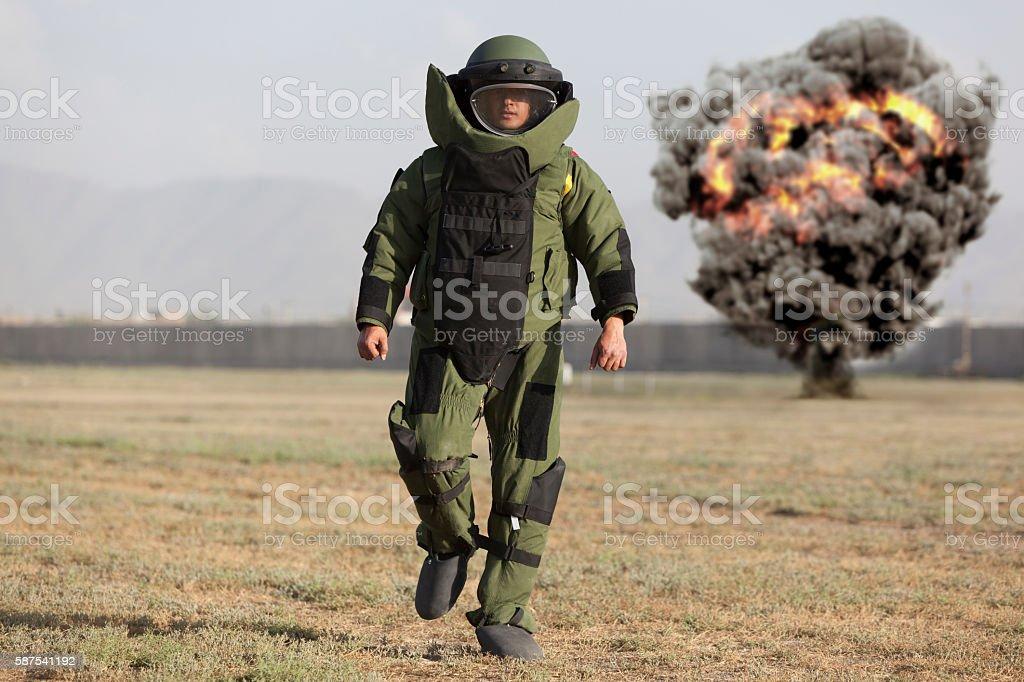 Bomb Disposal stock photo
