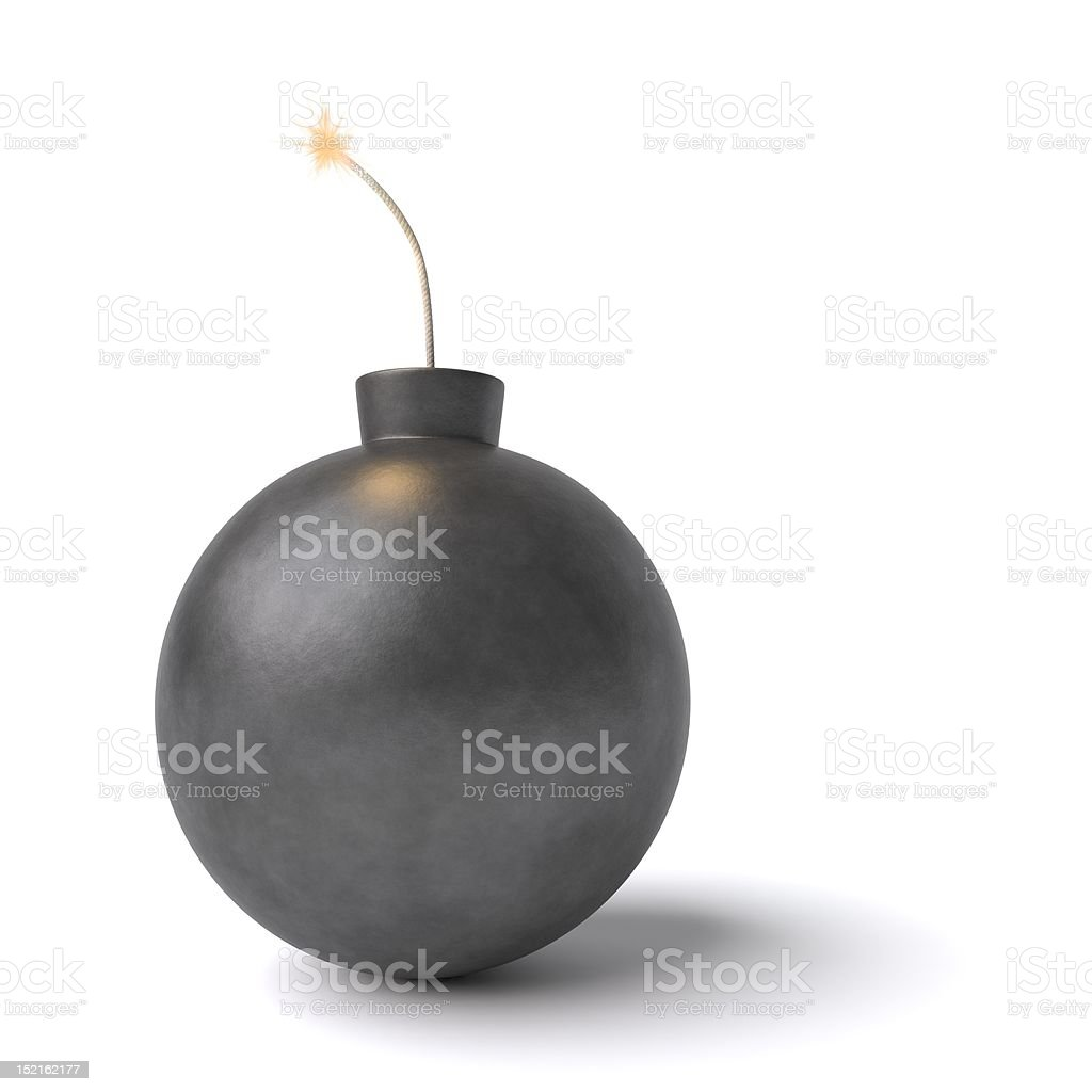 Bomb royalty-free stock photo