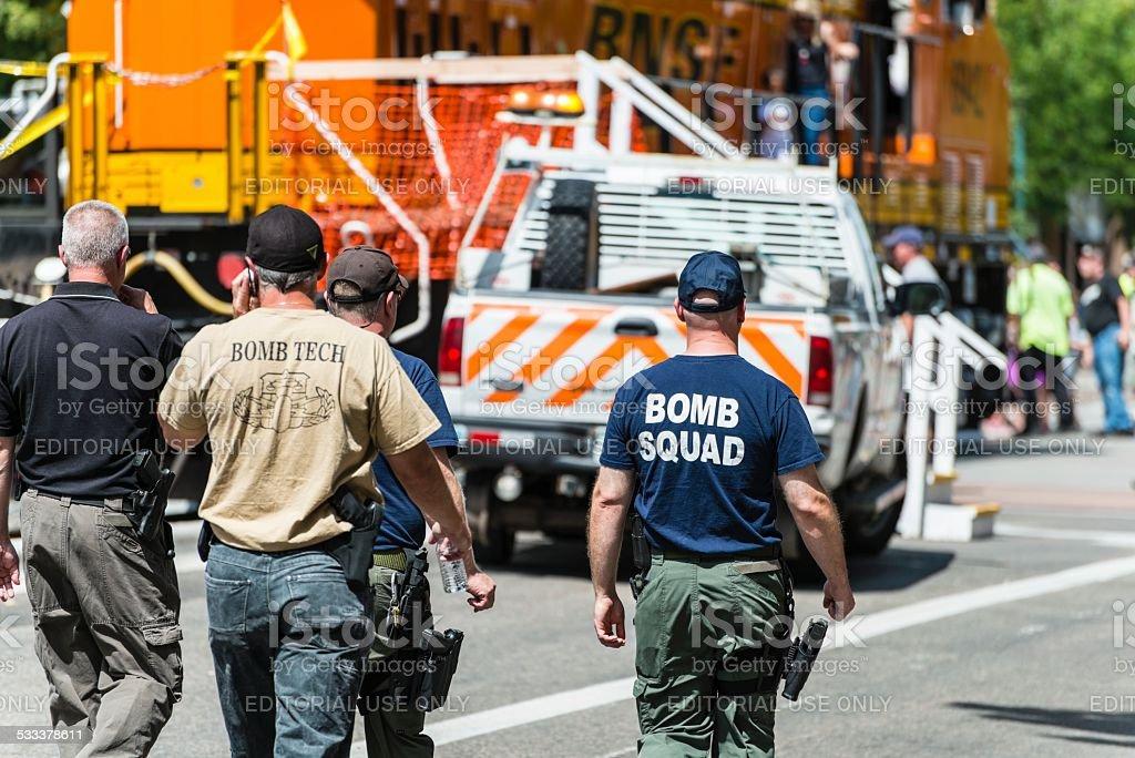 Bomb Squad, Fort Collins, Colorado stock photo