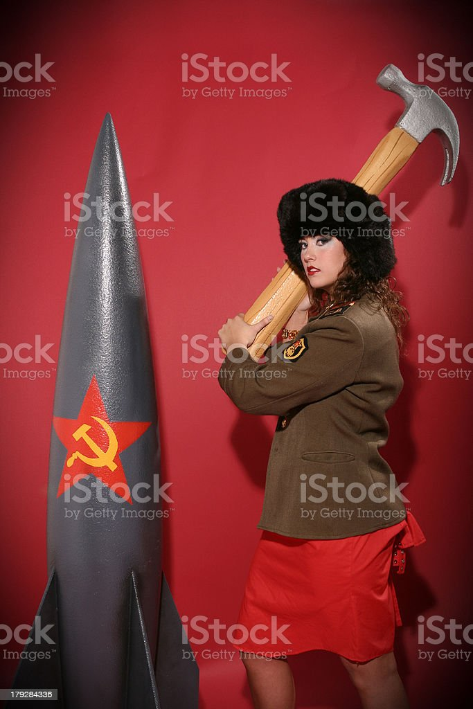 Bomb Technician stock photo