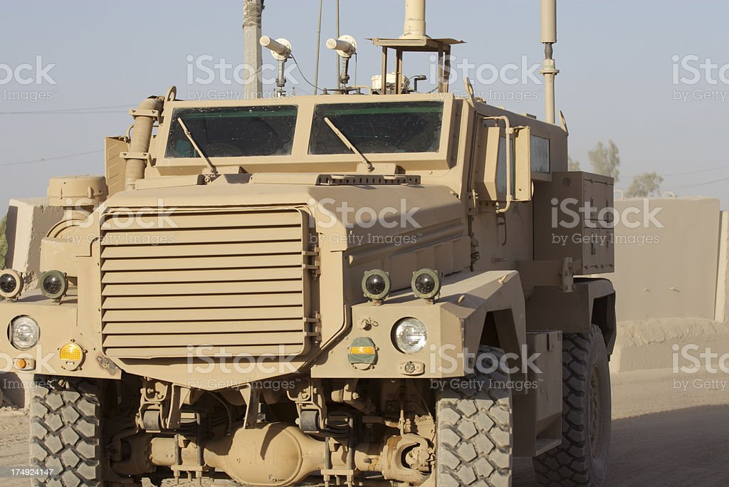 Bomb Truck royalty-free stock photo