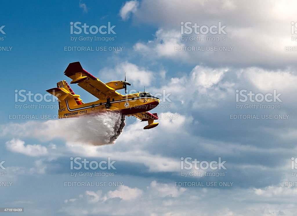 Bombardier 415 Superscooper royalty-free stock photo