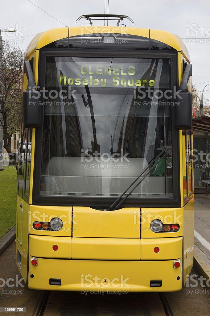 Bombardier Class Tram royalty-free stock photo