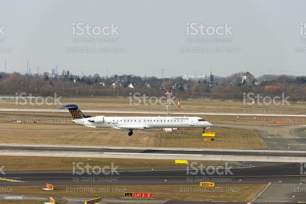 Bombardier, CRJ-900 NG stock photo