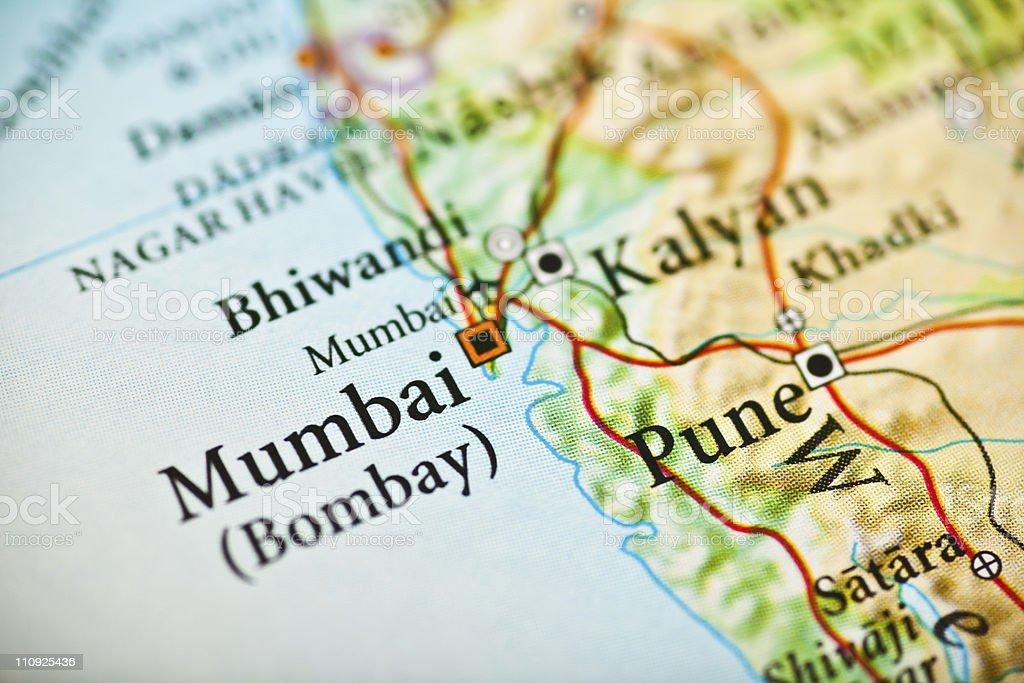 Bombay, India royalty-free stock photo