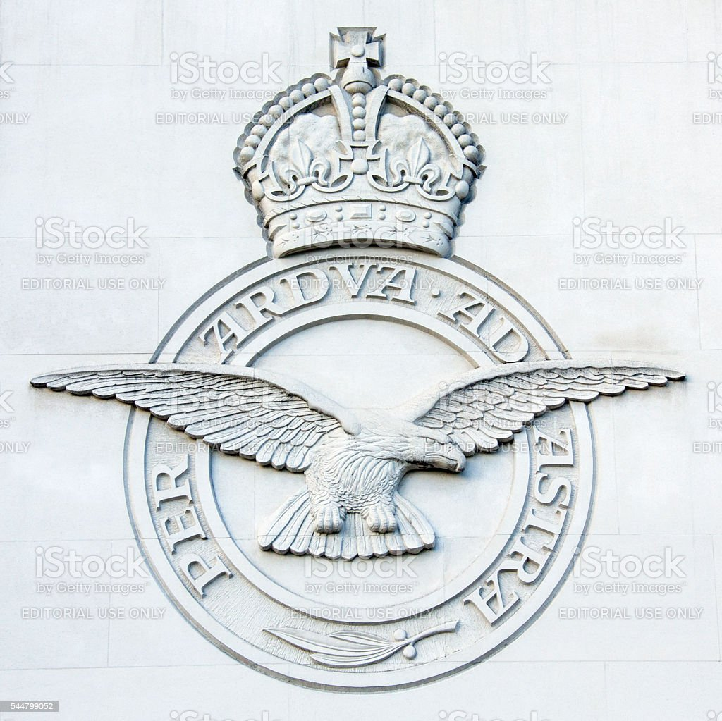 RAF Bomber Command Memorial - London - England stock photo