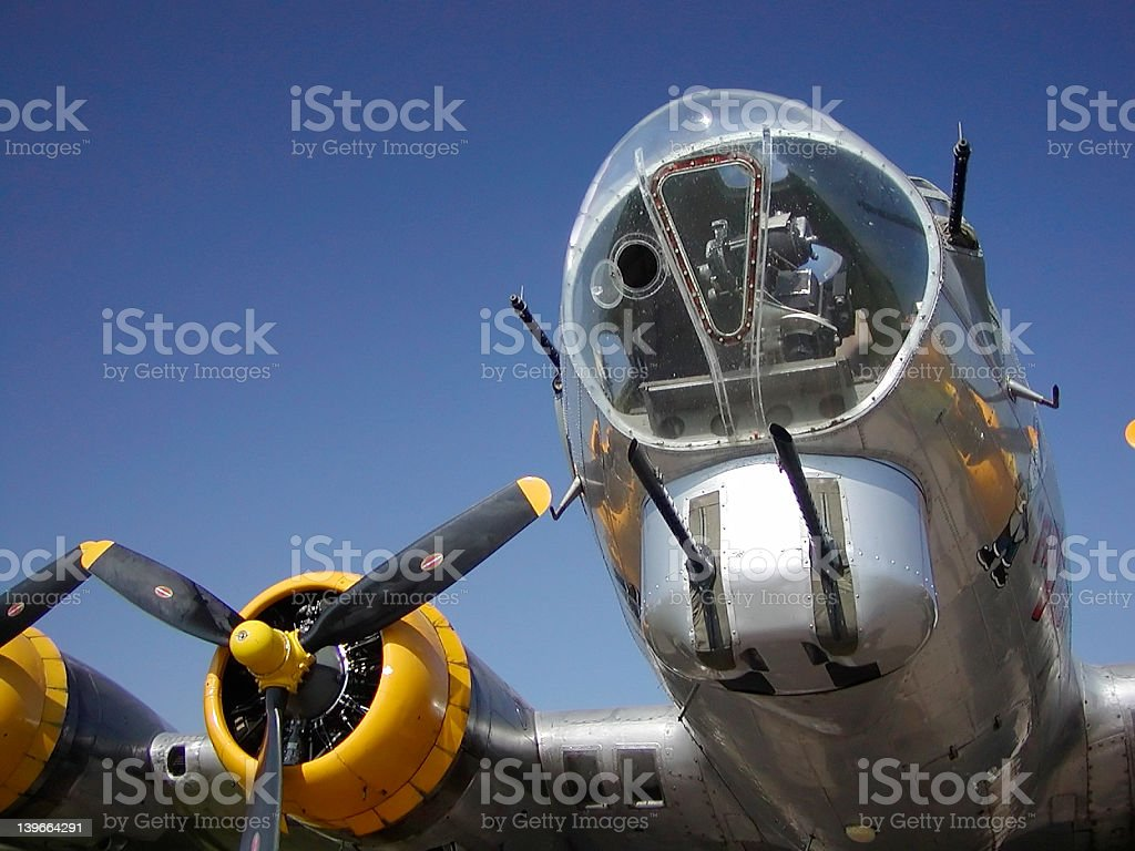 B-17 Bomber royalty-free stock photo
