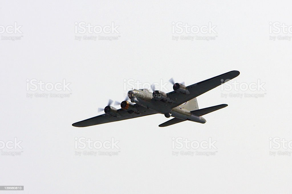 B17 Bomber #1 stock photo