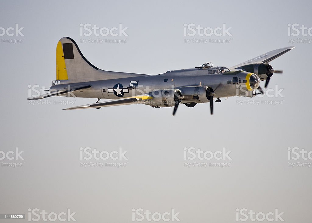 B - 17 bomber. foto stock royalty-free
