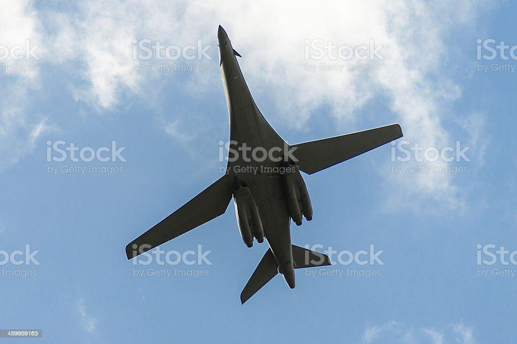 Bombardeiro foto royalty-free