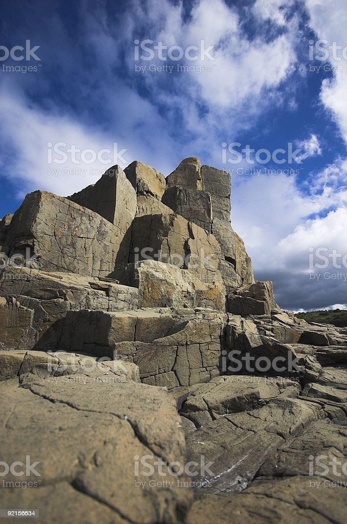 Bombo Rocks royalty-free stock photo