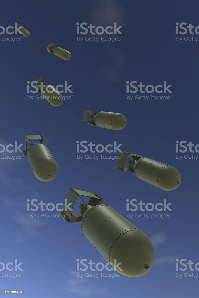 Bombs Away royalty-free stock photo