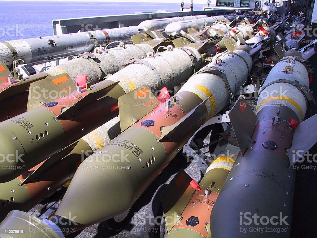bombs royalty-free stock photo