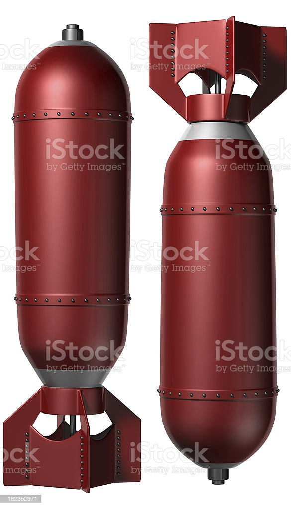 Bombs royalty-free stock photo