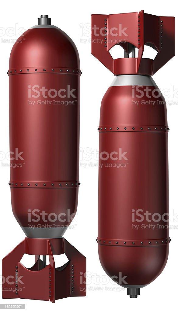 Bombs stock photo