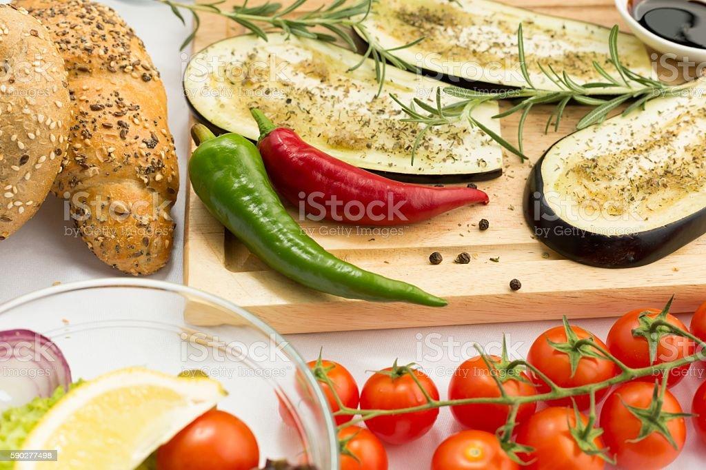 Bon appetit everyone! stock photo