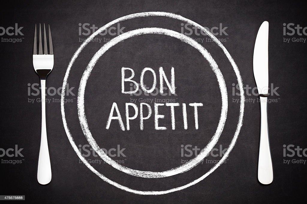 Bon Appetit stock photo