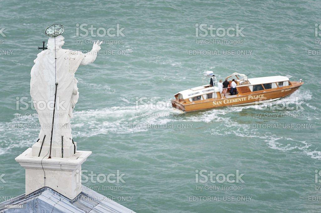 Bon voyage stock photo