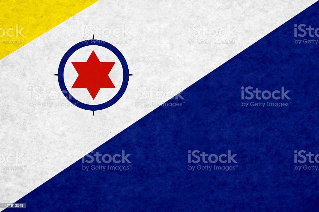 Bonaire flag stock photo
