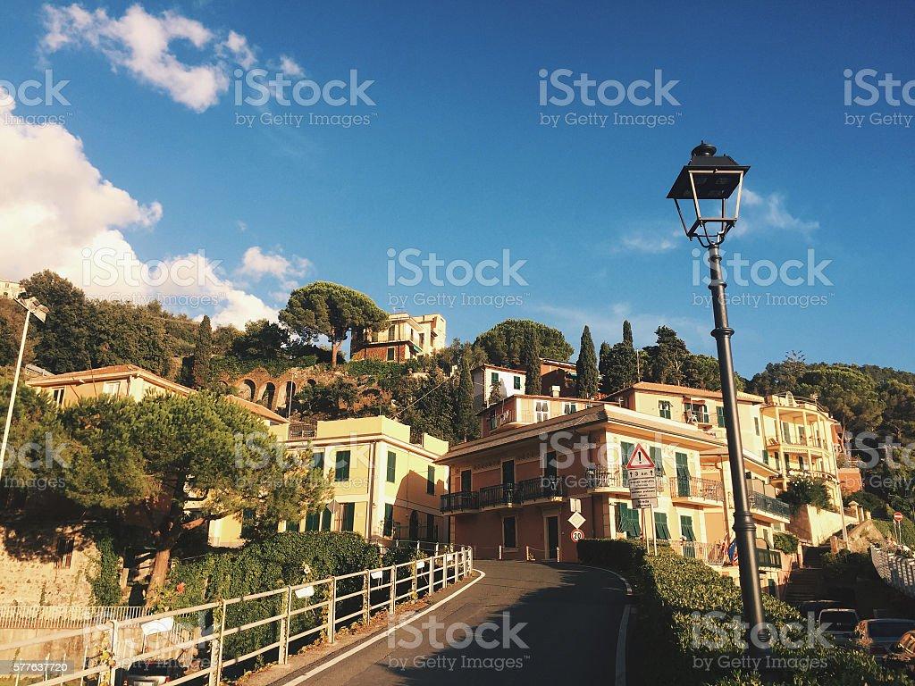 Bonassola in Cinque Terre, Liguria, Italy stock photo