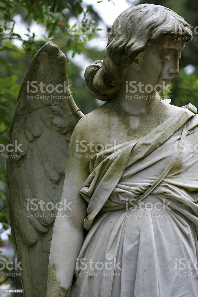Bonaventure Angel Statue stock photo