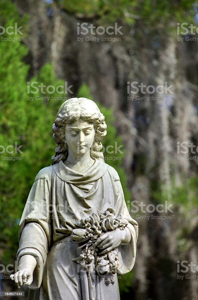 Bonaventure Cemetery Detail stock photo