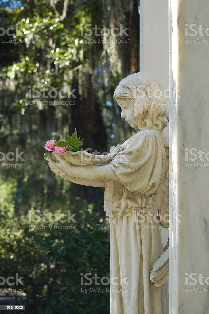 Bonaventure Cemetery stock photo