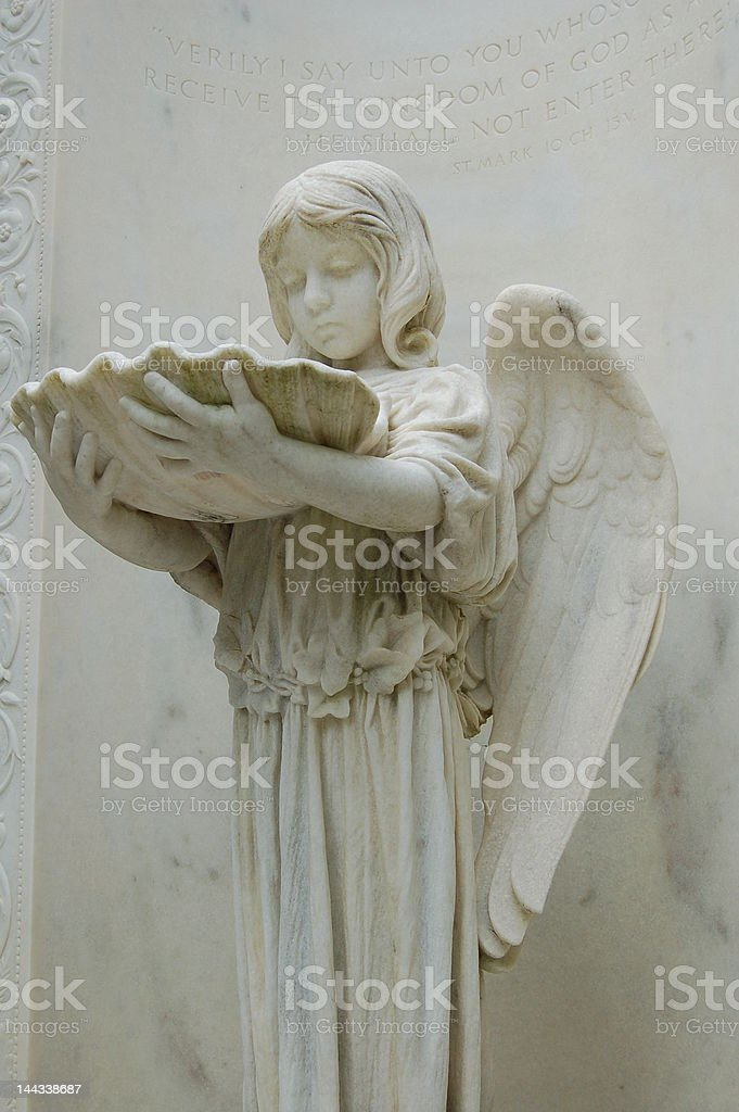 Bonaventure Cemetery Statue stock photo