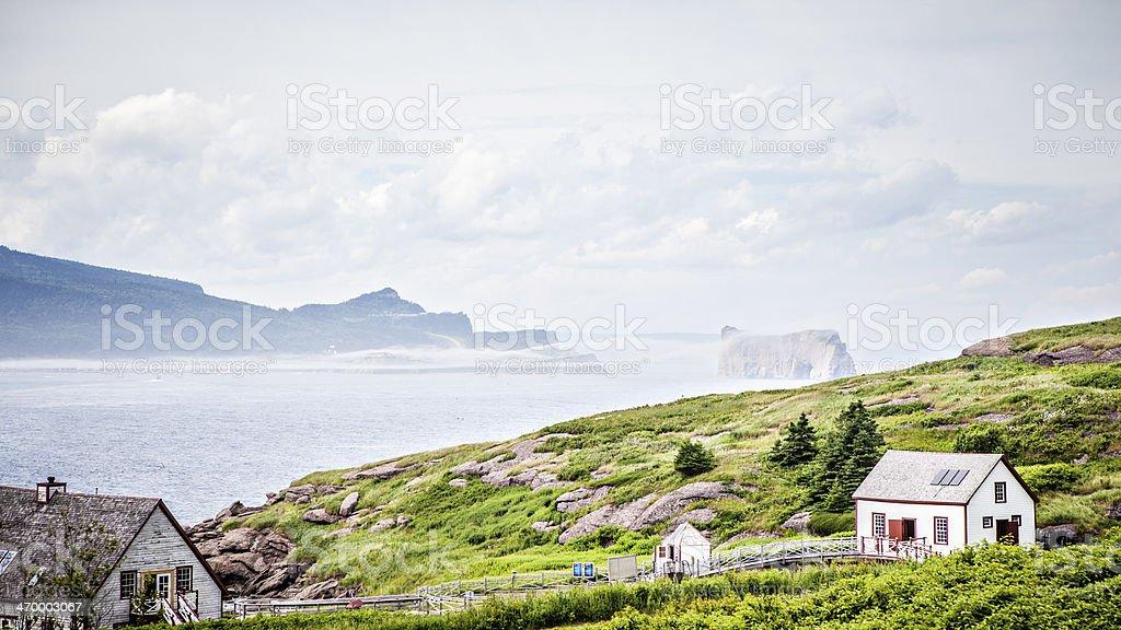 Bonaventure Island stock photo