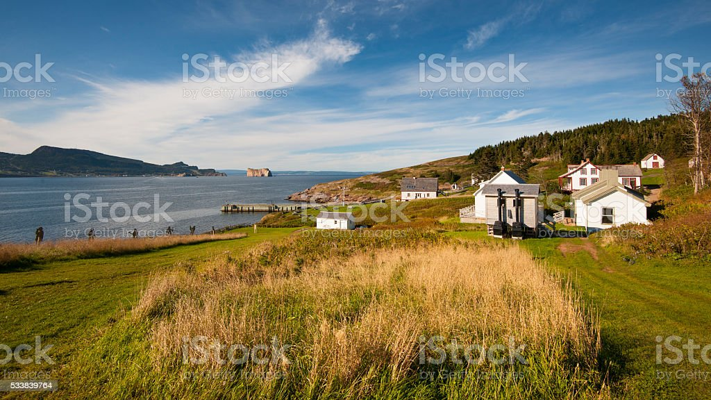Bonaventure Island stock photo