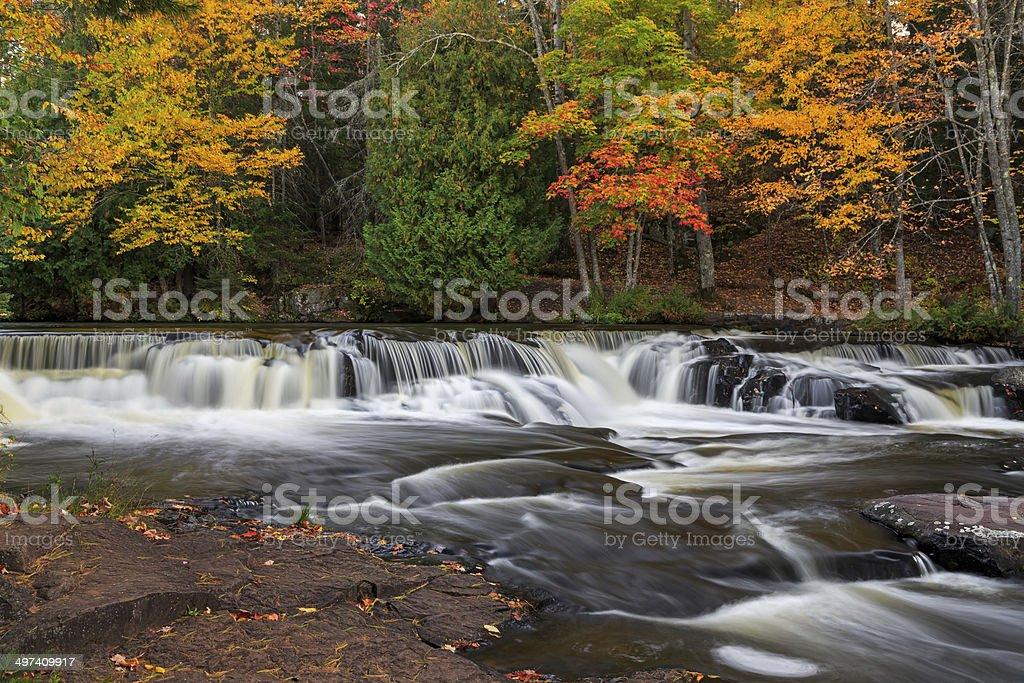 Bond Falls Flow stock photo