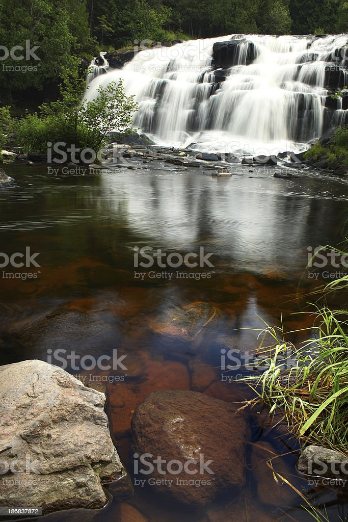 bond falls royalty-free stock photo