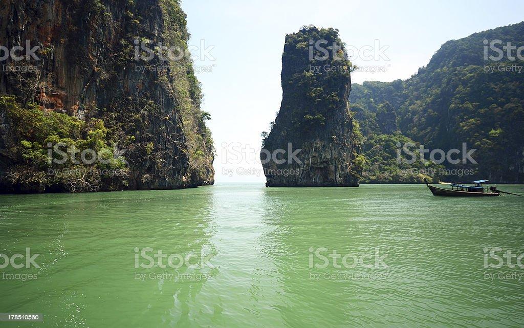 bond island royalty-free stock photo
