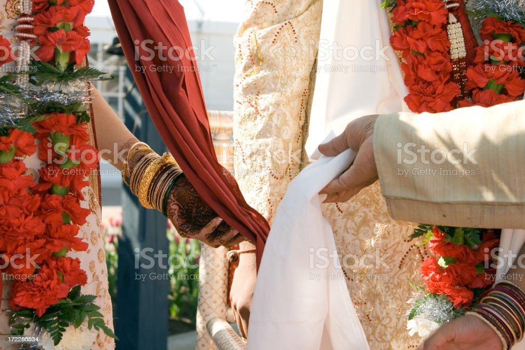 bond of marriage stock photo