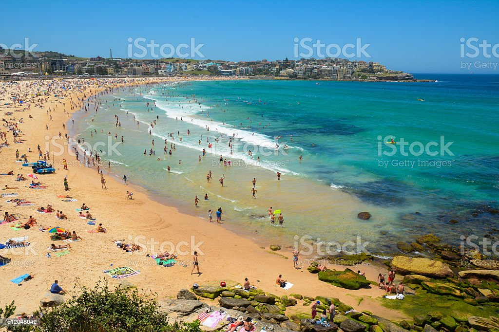 Bondi Beach, New South Wales, Australia stock photo