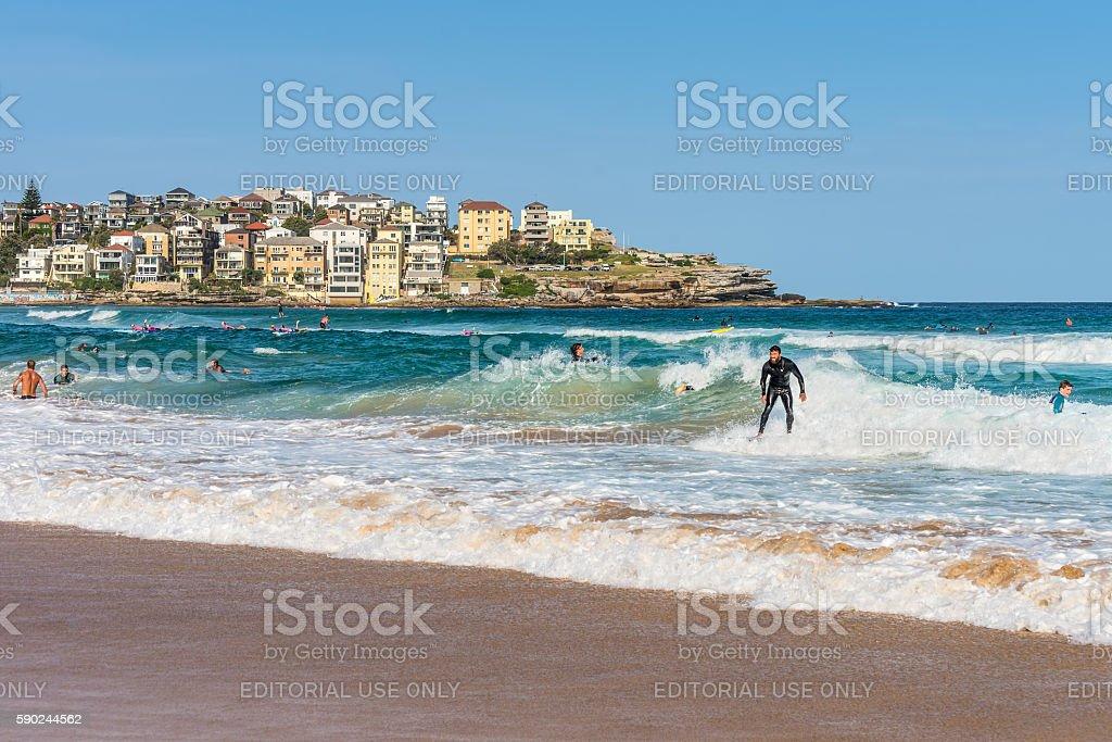 Bondi Beach, New South Wales, Australia stock photo