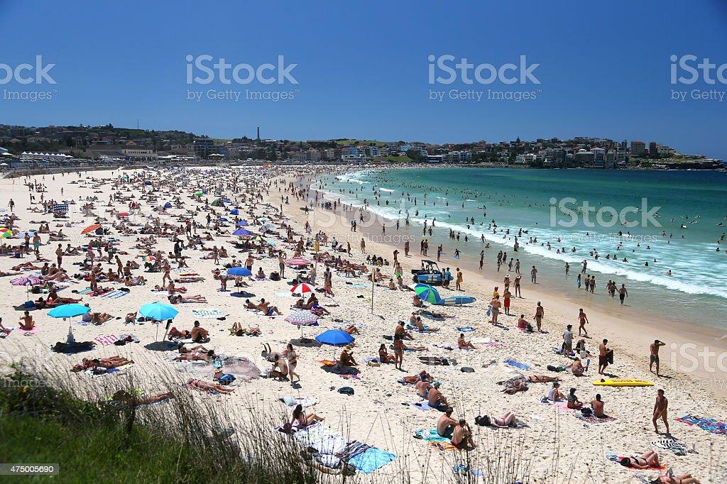Bondi Beach royalty-free stock photo