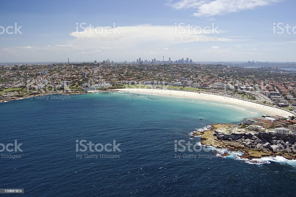 Bondi beach, Sydney, Australia stock photo