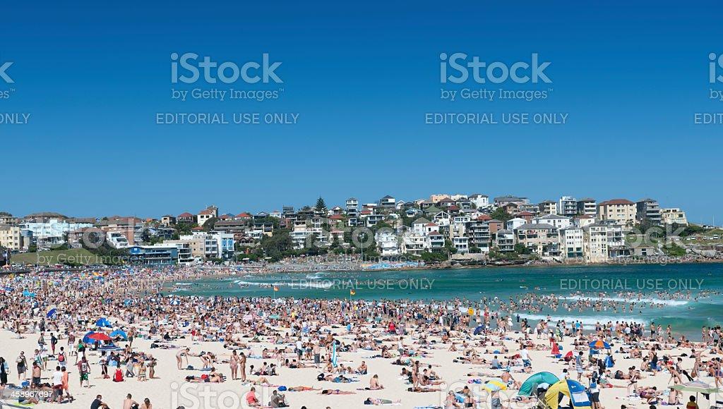 Bondi Beach, Sydney, Australia (XXXL) royalty-free stock photo