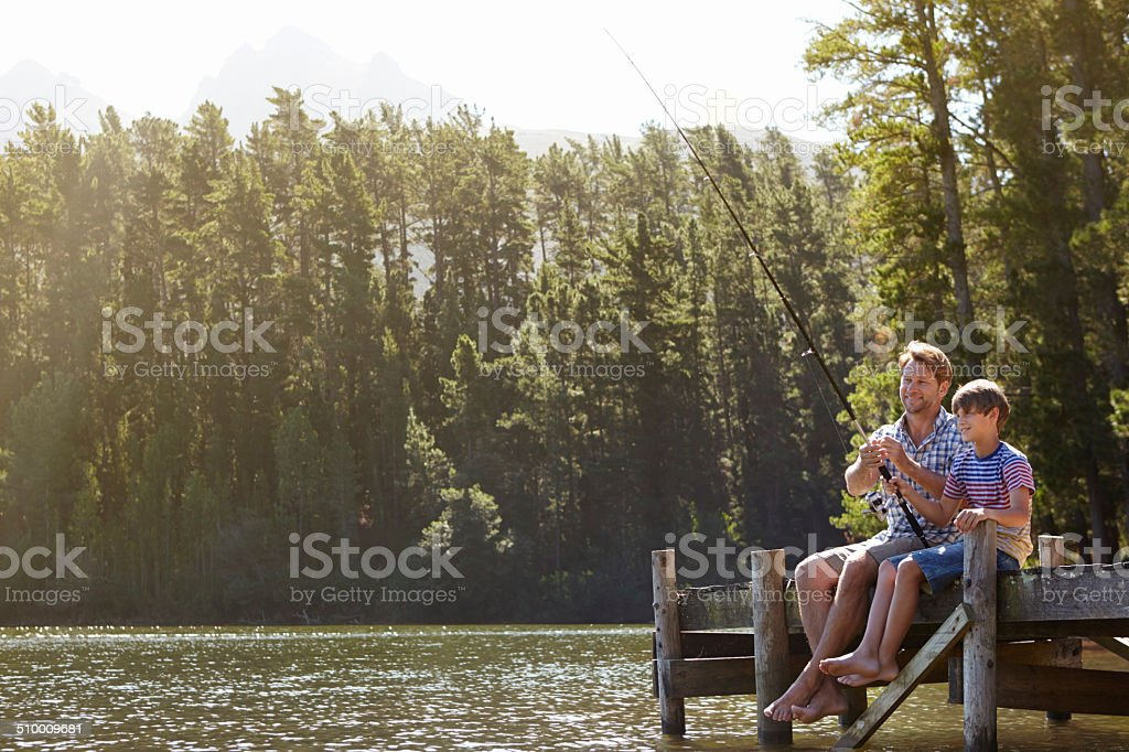 Bonding doesn't get better than this! stock photo