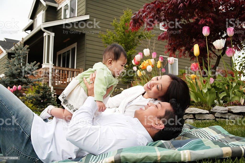 Bonding Family royalty-free stock photo