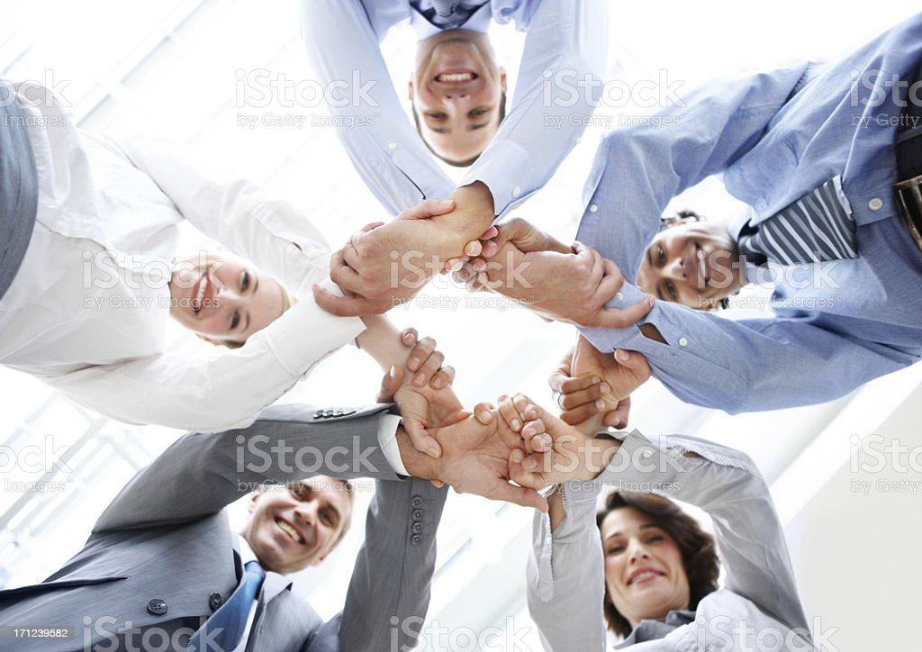 Bonding through business ambition! royalty-free stock photo