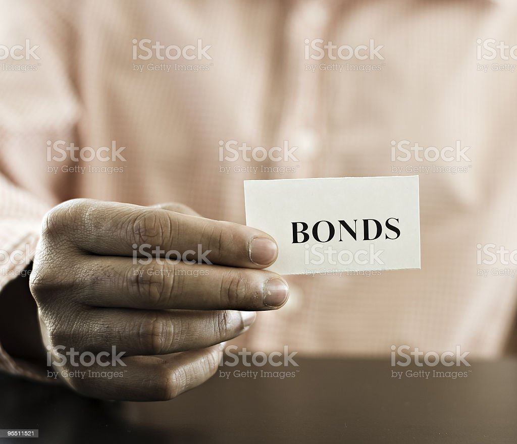 bonds stock photo
