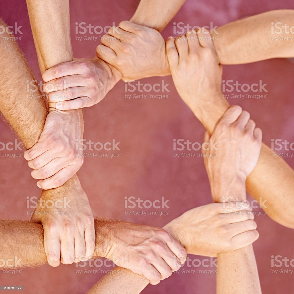Bonds that cannot be broken stock photo