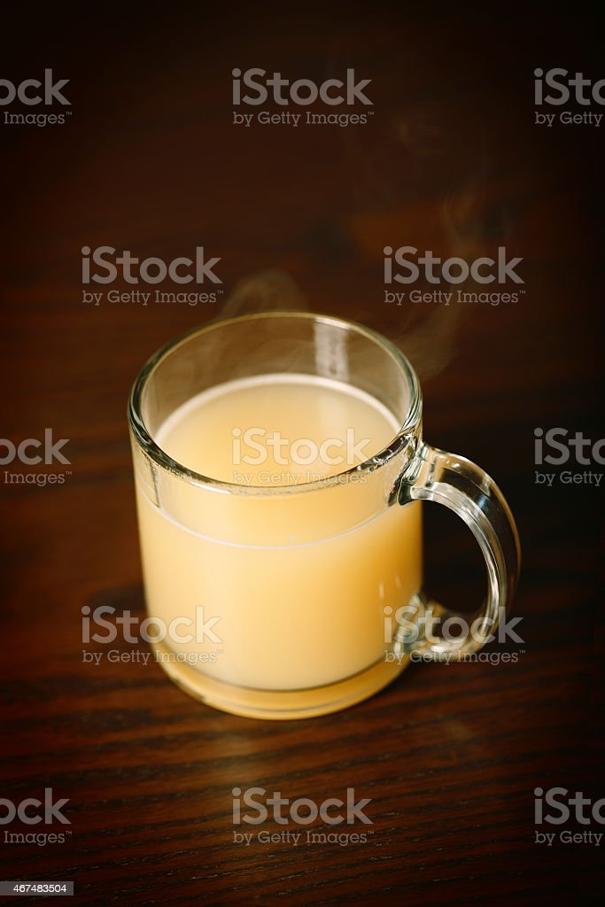 Bone Broth stock photo