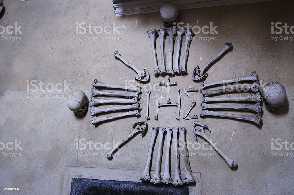 Bone church stock photo